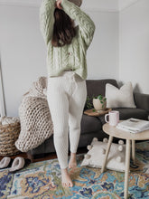 Load image into Gallery viewer, Mabel Chennile Lounge Pant - Ivory