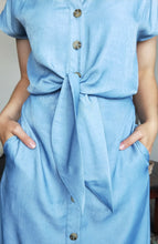 Load image into Gallery viewer, Miri Dress - Chambray