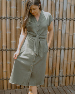 Miri Dress - Khaki
