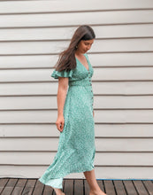 Load image into Gallery viewer, Coletta Dress - Green Floral
