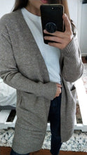 Load image into Gallery viewer, Abilene Wool Blend Cardigan - Oatmeal