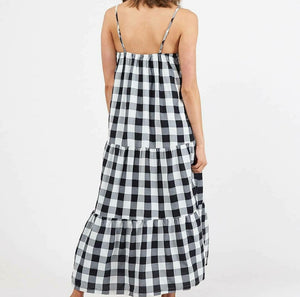 Avani Dress - Gingham/Buffalo Check