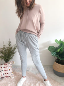 Heather Jogger - Grey