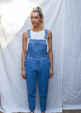 Load image into Gallery viewer, Nora Overalls - Vintage Mid Blue Wash