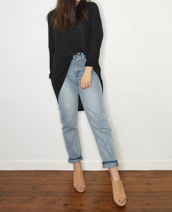 Dawn Long Sleeve Top - Black