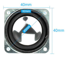 Load image into Gallery viewer, 2Pcs 1.5Inch Portable Audio Speakers 8Ohm 2W 40MM