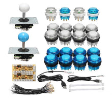 Load image into Gallery viewer, Zero Delay Joystick Arcade DIY Kit LED Push Button+Joystick+USB Encoder+Wire Harness USB Controller For Arcade Mame Arcade Game