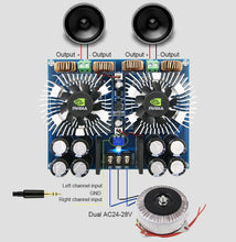 Load image into Gallery viewer, Digital Audio Amplifier Board 420W * 2 High Power Two-channel AC24V