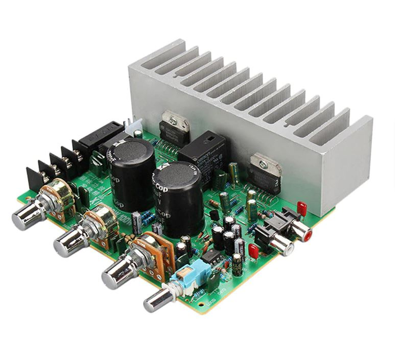 Dual AC20-26V 100Wx2 HIFI 2.0 Stereo Audio Power Amplifier Board