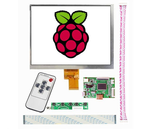 8 inch 1024*768  LCD display Micro Ultra small Driver Board Control mini For Raspberry Pi HDMI