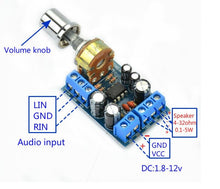 Load image into Gallery viewer, 2 x 1.5W  Mini Audio Amplifiers Board  2.0 Channel Stereo Amplifier DIY For Home Theater