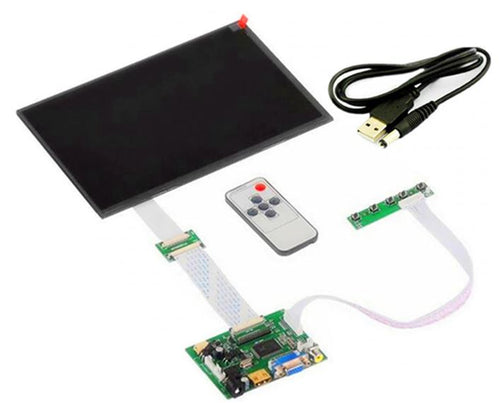 10.1 inch HD 40pins 1280*800 tablet LCD display screen Driver Board Monitor HDMI VGA AV LVDS for Raspberry