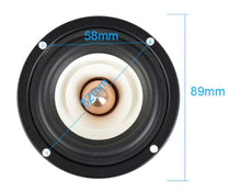 Load image into Gallery viewer, 3 Inch Full Range speaker 4Ohm 8Ohm 15W