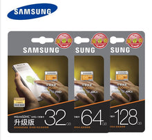 Load image into Gallery viewer, 100% Original SAMSUNG Micro SD card 64 GB u3 Memory Card EVO Plus 64GB 128GB 32GB Class10 TF Card C10 100MB/S MICROSDXC UHS-1