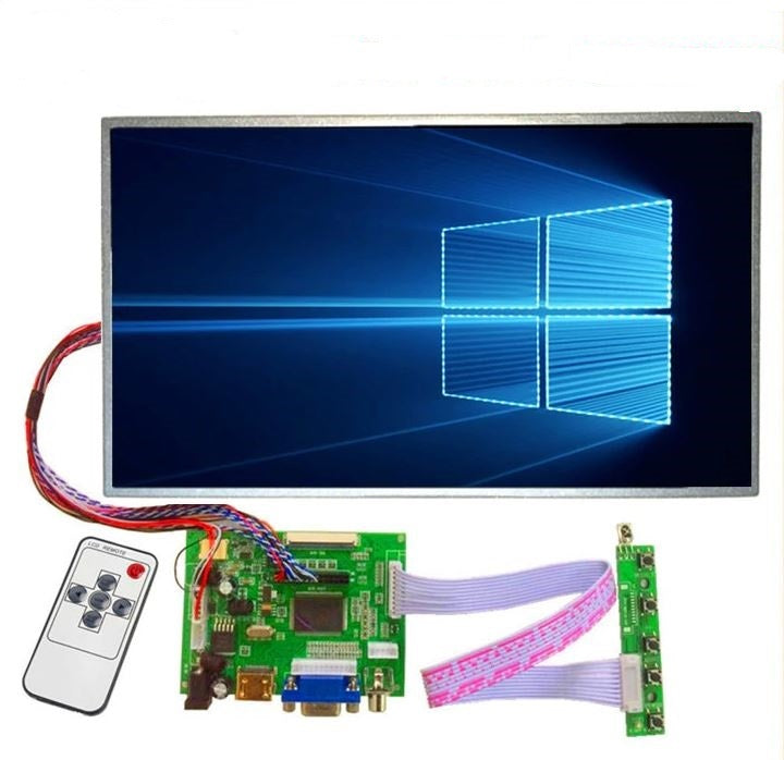 15.6 inch large Control LCD screen Driver Monitor Board HDMI VGA for Raspberry Pi 3 laptop display panel