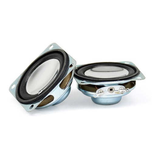 2Pcs 1.5Inch Portable Audio Speakers 8Ohm 2W 40MM