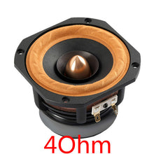 Load image into Gallery viewer, Aiyima 1Pc 4Inch Audio Loudspeaker Woofer Full Range Speaker 4Ohm/ 8Ohm 30W Column DIY Speakers For Home Theater