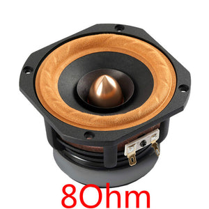 Aiyima 1Pc 4Inch Audio Loudspeaker Woofer Full Range Speaker 4Ohm/ 8Ohm 30W Column DIY Speakers For Home Theater
