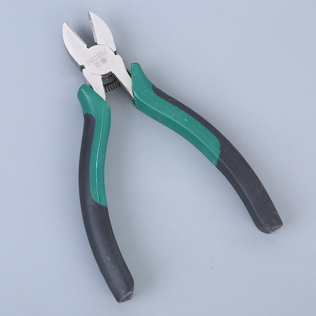 6 inch Professional Tools Nickel iron alloy Multifunction Wire Pliers Set Stripper Crimper Cutter needle nose Nipper Tool