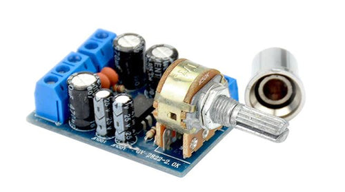 2 x 1.5W  Mini Audio Amplifiers Board  2.0 Channel Stereo Amplifier DIY For Home Theater