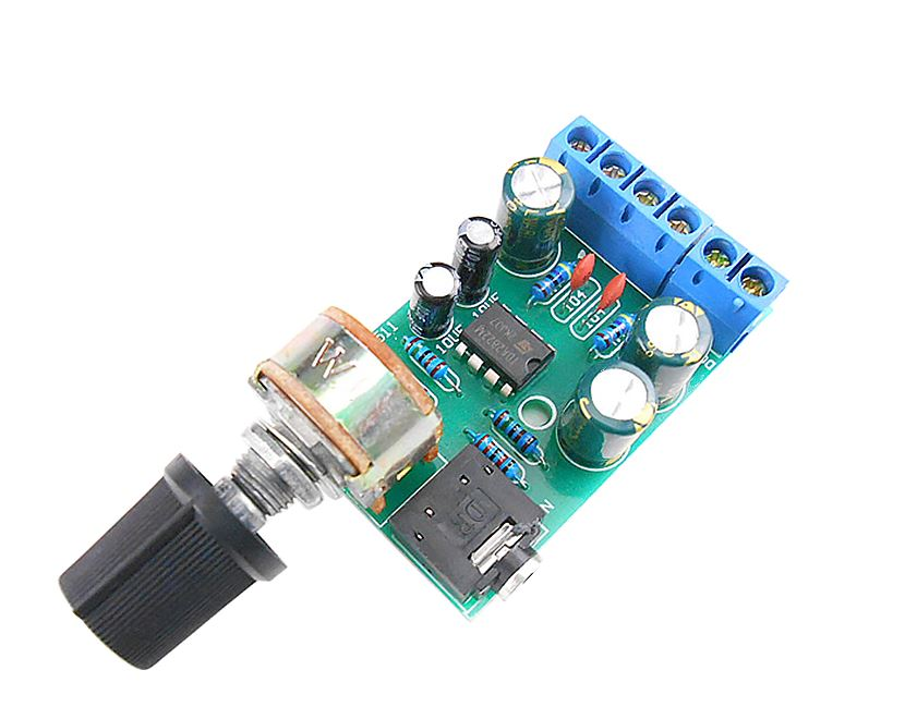 2.0 Stereo Audio Amplifier Board Dual Channel AMP AUX DC 1.8-12V.