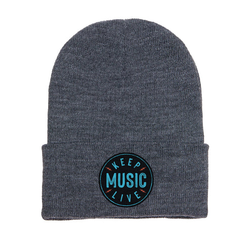 Keep Music Live Beanie