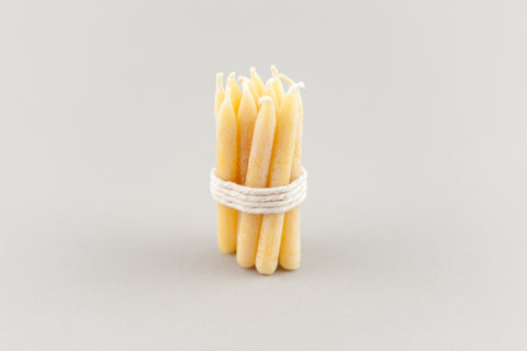 pure beeswax candles - birthday