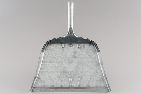 queen city dust pan - galvanized