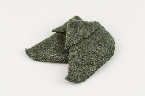 pixie boots - nettle wool