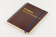 rollbahn notebook - large brown
