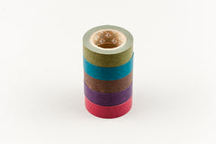 japanese washi tape - dark