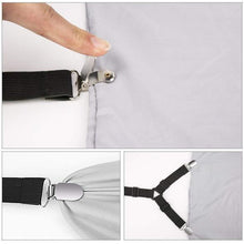 Load image into Gallery viewer, (Buy 2 get 2 free!)--Bed Sheet Fasteners-60% OFF TODAY