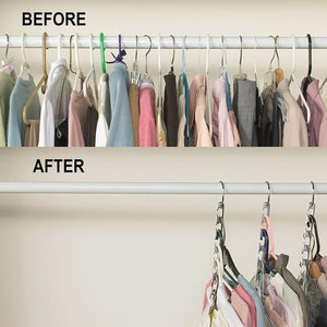 (40% OFF Today) Magic Hangers Closet Space Saving ( Plastic and Metal )