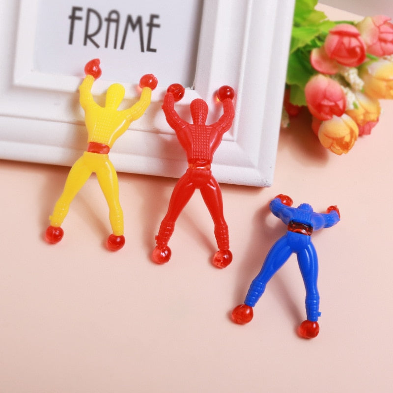 wall climbing Spiderman Superman Children's Toys