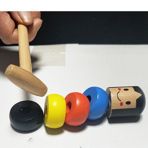 (Buy 10 Get 10 Free)Unbreakable wooden Man Magic Toy