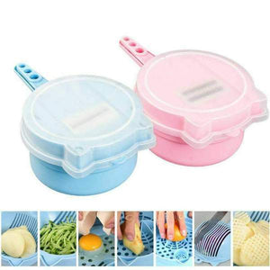 (50% OFF!!!) 9 in 1 Multi-function EASY FOOD CHOPPER