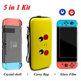 Ultimate 4-in-1 Kit (Carry Bag, Crystal Shell, Glass Protector, Joy-Con Thumb Caps)