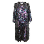 Straw Spike Sequin, Occasion Coat