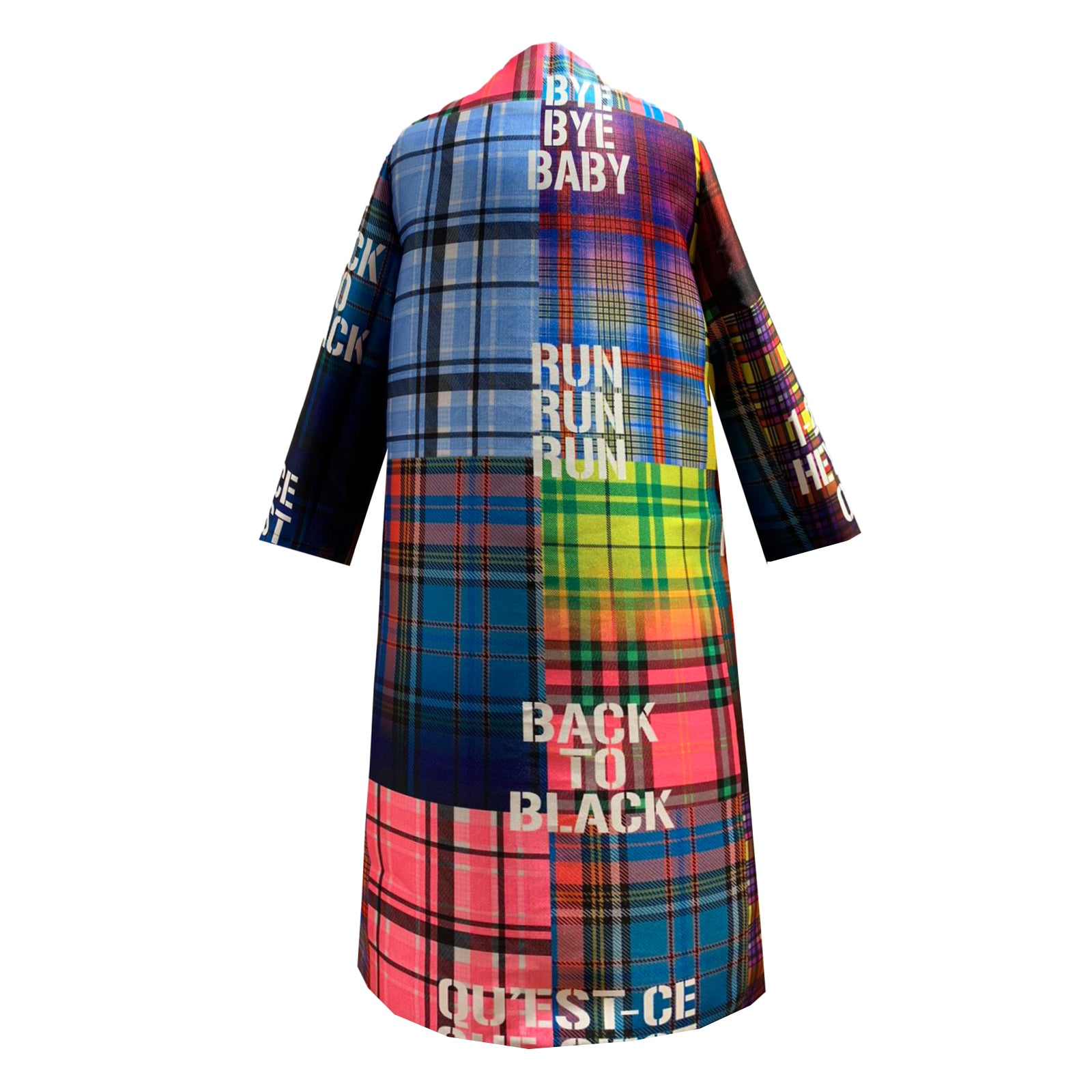 Multi print Occasion Coat HERO