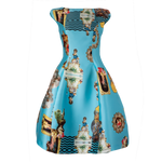Sicily Light Blue, C Dress