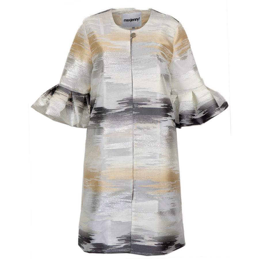 Glimmer Silver & Gold, Volanged Armcoat