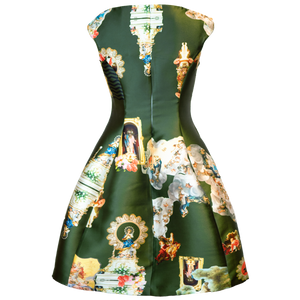 Sicily Army Green, C Dress
