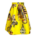 Sicily Yellow, Short Skirt