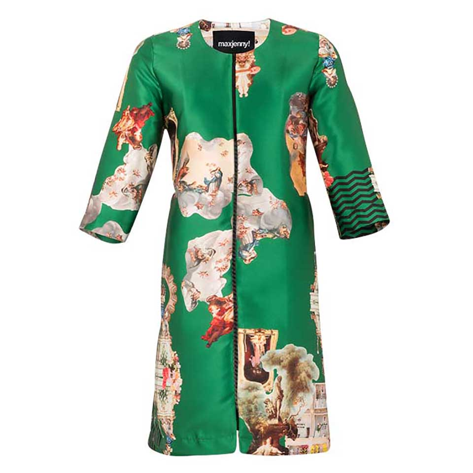 Sicily Green, Occasion Coat