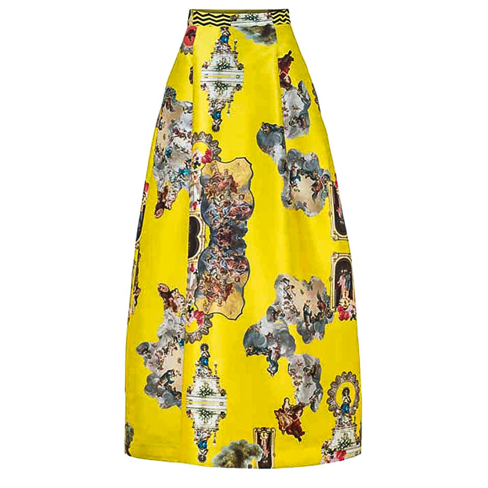 Sicily Yellow, Long Skirt