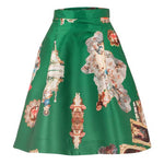 Sicily Green, Short Skirt