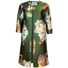 Load image into Gallery viewer, Sicily Army Green, Occasion Coat