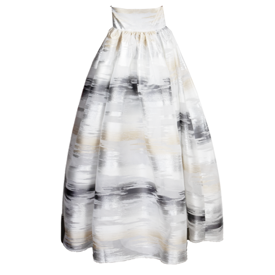 Glimmer Silver & Gold, K-Long Skirt