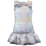 Glimmer Silver & Gold, Volange Preppy Dress