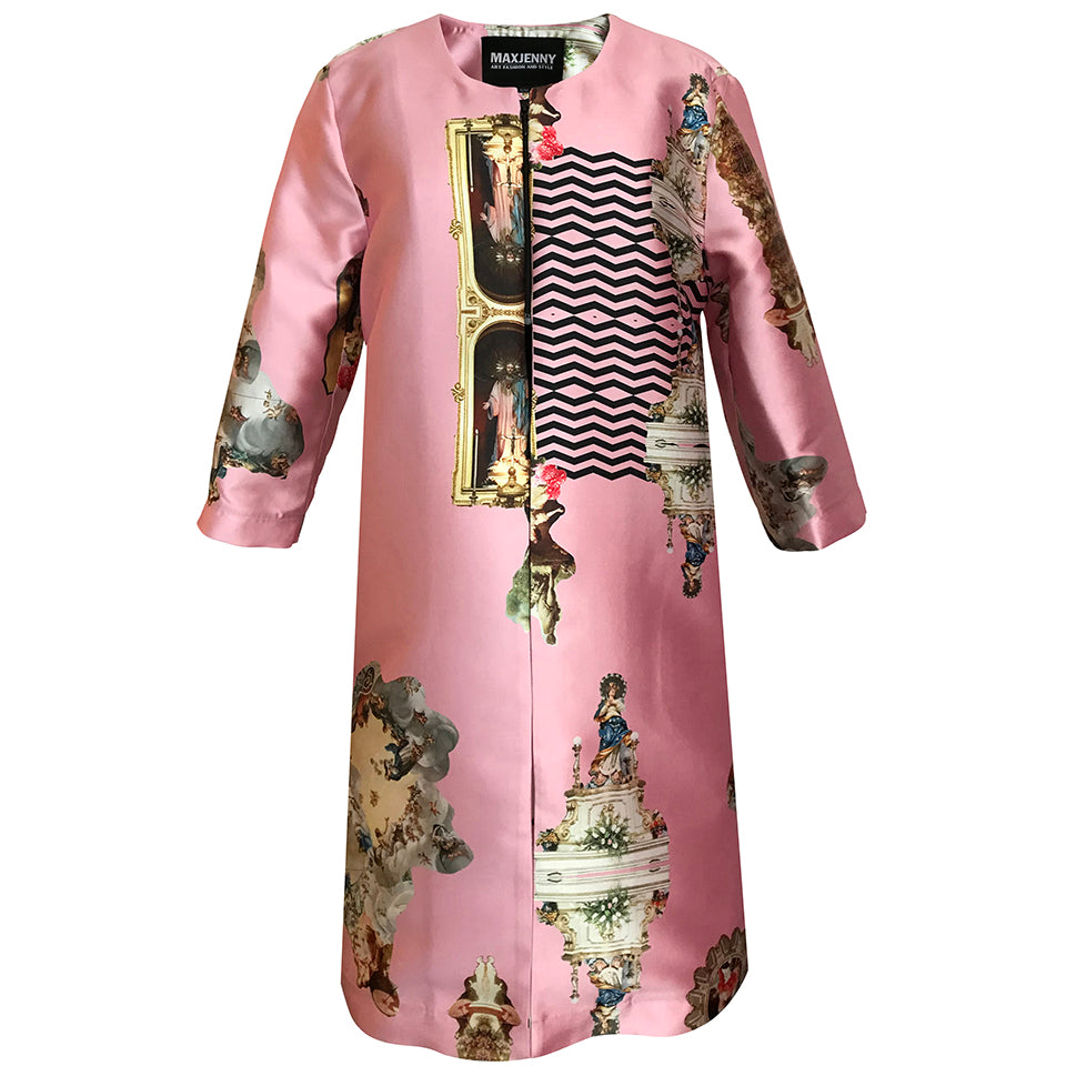 Sicily Powder Pink Occasion coat